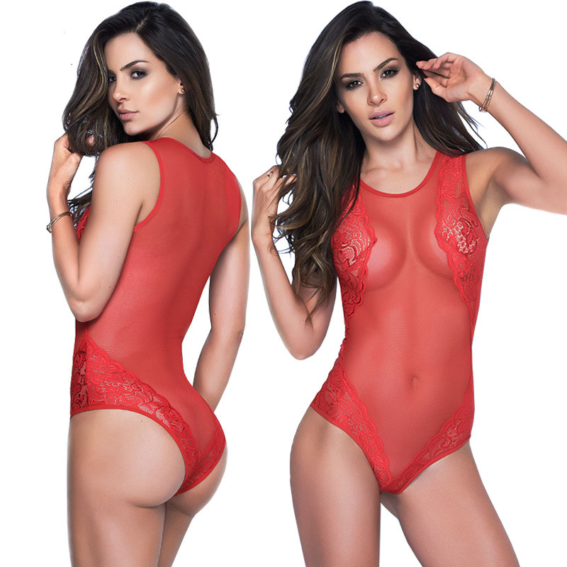 Buy Sexy Porn Baby Dolls Women Sexy Erotic Lingerie Hot Lace Perspective Temptation Babydoll Lenceria Sexy Costumes Underwear