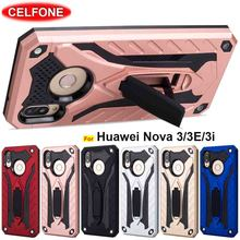 US $2.84 5% OFF|Shockproof cover for Huawei Nova 3 4 case Silicone soft TPU PC 2in1 kickstand Armor case for Huawei Nova 3i 3e P20 P30 Pro case-in Fitted Cases from Cellphones & Telecommunications on Aliexpress.com | Alibaba Group