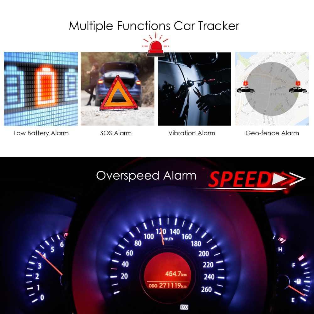 Prazata мини gps трекер Автомобильный gps-локатор GSM JIMI GV25 отключение топлива gps-трекер мотоцикл превышение скорости Вибрирующая сигнализация водонепроницаемый