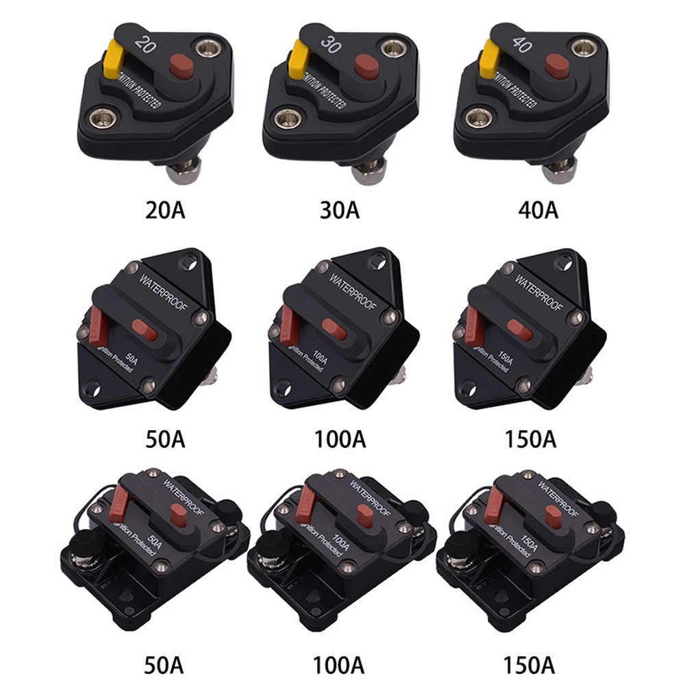 wupp 48v dc20 30 40 50 100 150a car circuit breaker [ 1000 x 1000 Pixel ]