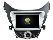 Android CAR Audio reproductor de DVD gps PARA HYUNDAI ELANTRA 2011 cabeza de navegación Multimedia unidad dispositivo receptor