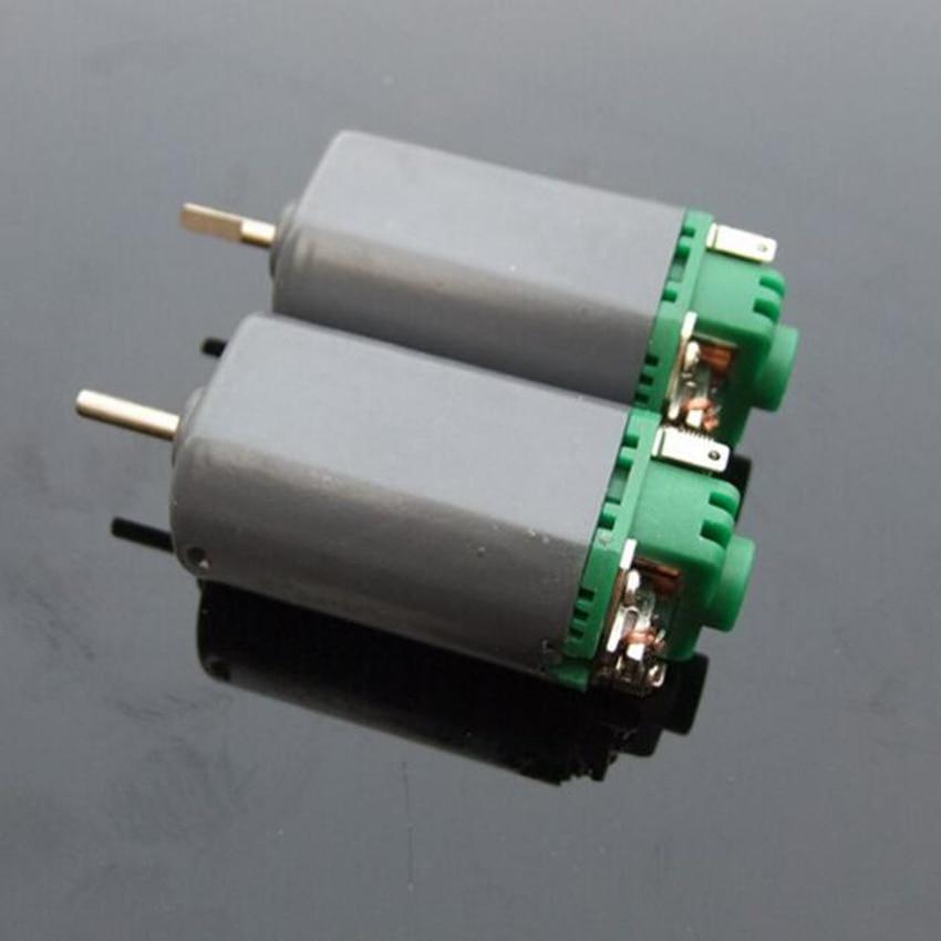 1pcs 480 Double Ball Bearing Micro DC Motor Short Shaft 7.2V 18000rpm Compensating Carbon Brush Sell