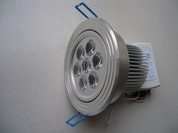 7*1 dimmable led ceiling light,650lm