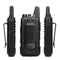 מכשיר הקשר 2pcs מיני מכשיר הקשר Retevis RT22 2W UHF 400-480MHz VOX סריקה CTCSS / DCS מכסים נגד אבק Ham Radio Hf משדר Handy 2 רדיו דרך (4)