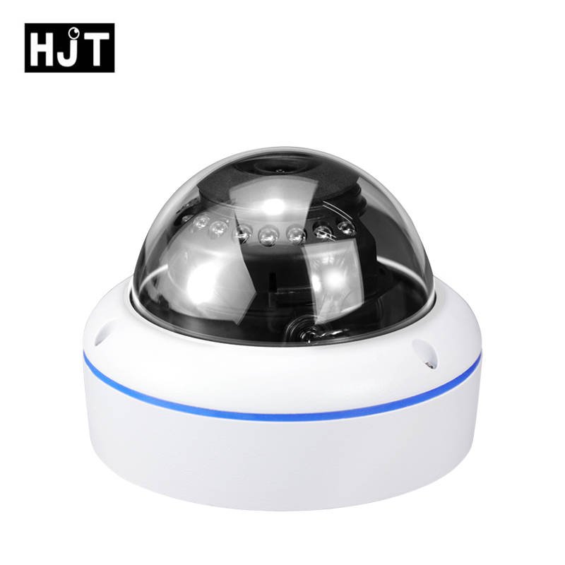 HJT H.265 Cable Network Video Camera Built-in POE 5.0MP P2P CCTV IP Camera 48v Security 3.6MM Lens Dome Seetong OnvifHJT H.265 Cable Network Video Camera Built-in POE 5.0MP P2P CCTV IP Camera 48v Security 3.6MM Lens Dome Seetong Onvif