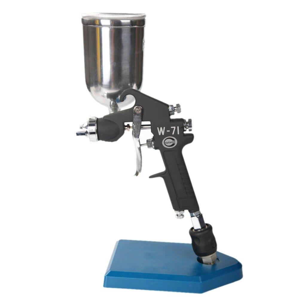Free Shipping W-71-G Gravity Feed HVLP Air Paint Spray Gun Professional Air Sprayer Machine Pneumatic Tool for Car and Furniture sat1215 air spray paint chrome spray machine hvlp paint gun air paint sprayer