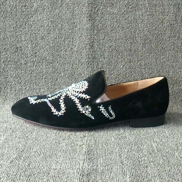 Mujer Fumadores Marca Polvo Homens Flats Pic Zapatos Sapato Deslizar Camurça De Sapatos As Nova Bordados Feminino Mocassins Sobre qz4dtFFx