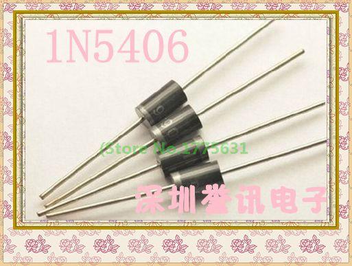 20pcs/lot 1N5406 IN5406 DO-27 3A 600V