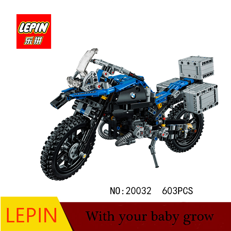 Lepin Technic Series Lepin 20032 Technic Series The BAMW Off-road Motorcycles R1200 GS Building Blocks Bricks Educational Toys decoo 3369 technic series the bamw off road motorcycles r1200 gs building blocks bricks educational toys lepin 20032 b11