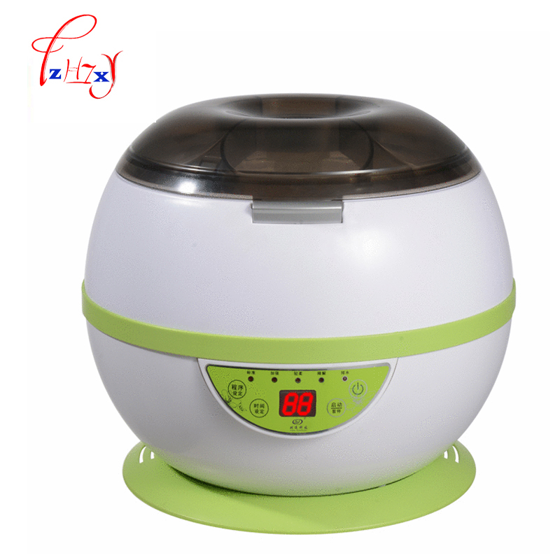 Household ozone detoxification Vegetable Fruit Washers fruit Washing Machine JCY-8B05 Vegetable Washers easy to use 1pc vegetable washers ultrasonic cleaning machine household washing glasses fruit and vegetable watch jewelry dental cleanin