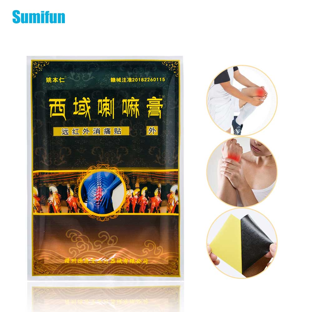 Sumifun 32Pcs Pain Relief Patch Rheumatism Shoulder Knee/Neck/Back Arthritis Joint Orthopedic Medical Plaster D1527