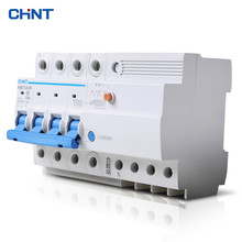 CHNT 4P 63A Miniature Circuit Breaker Household Type C Air Switch Moulded Case Circuit Breaker the melting of miniature circuit breaker household air ic45n 3p c25a air switch circuit breaker protection