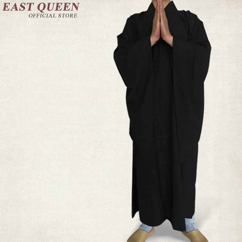 僧侶のローブ中国仏教僧侶服少林寺モンクローブ男性少林寺僧侶制服 AA966