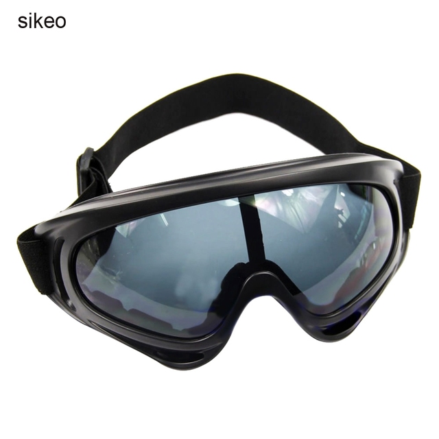 Sikeo Outdoor Ski Snowboard Sunglasses Paintball Protective Glasses Dust Proof Off-Road Motorcycle Riding Goggles
