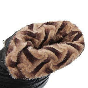 Image 3 - Taoffen nowa zimowa kobieta matka buty antypoślizgowe wodoodporne buty ocieplane bawełną kobiety macierzyństwo pluszowe śniegowce rozmiar 33 43