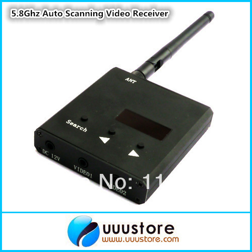 Boscam RC32S FPV 5.8Ghz 32 Channels Wireless Auto Scanning Video Receiver boscam dv01s fpv 8 channel 5 8g wireless receiver dvr wireless audio