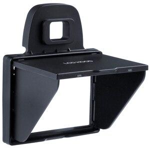 Image 4 - 2in1 LCD ekran koruyucu Pop up Sun Shade Hood kapak için Nikon D7100 D7200