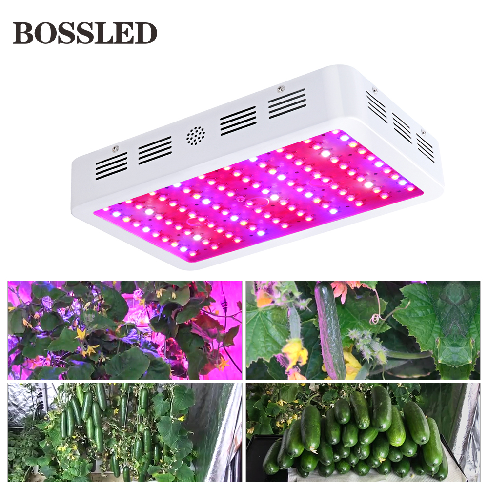 BOSSLED 300W 600W 800W 1000W 1200W 1500W 1800W 2000W full spectrum led grow light for indoor plants Flower fruit grow led light best 600w1200w 1800w 2700w led grow light full spectrum for indoor plants veg fruit medical grow led light hydroponic system led