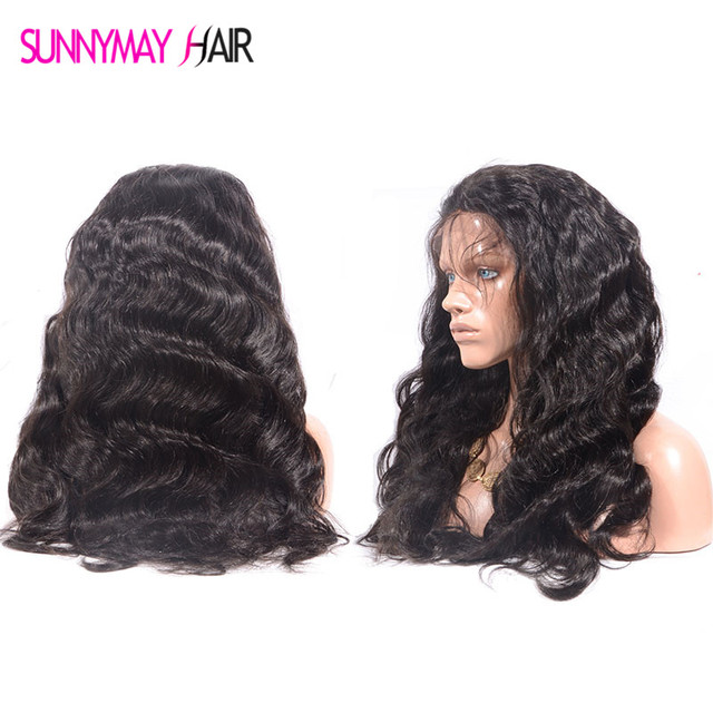 Lace Front Wig 250% Density Full Lace Human Hair Wigs For Black Women 7A Brazilian Wig Body Wave Lace Front Human Hair Wigs