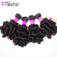 Tinashe Hair Brazilian Hair Weave 4 Bundles Remy Human Hair