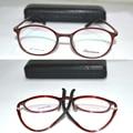Óptico por encargo lentes ópticos TR90 nuevo material borde completo la memoria rojo marco gafas de lectura 1 + 1.5 + 2 + 2.5 + 3 + 6