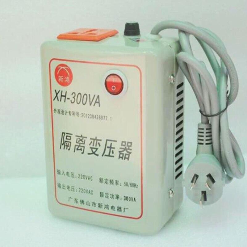 AC220V к AC220V, 300 Вт тороидальный трансформатор 1:1, с предохранителем, полная мощность