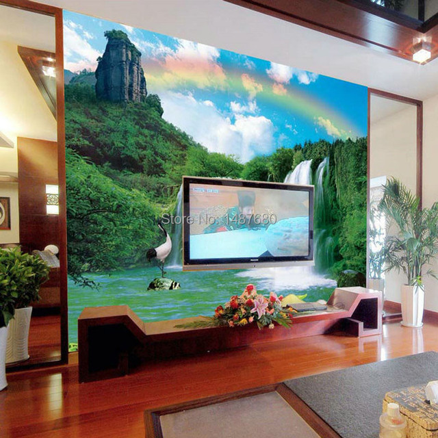 Beibehang Wallpaper Bedroom Wall Landscape Customized 3d