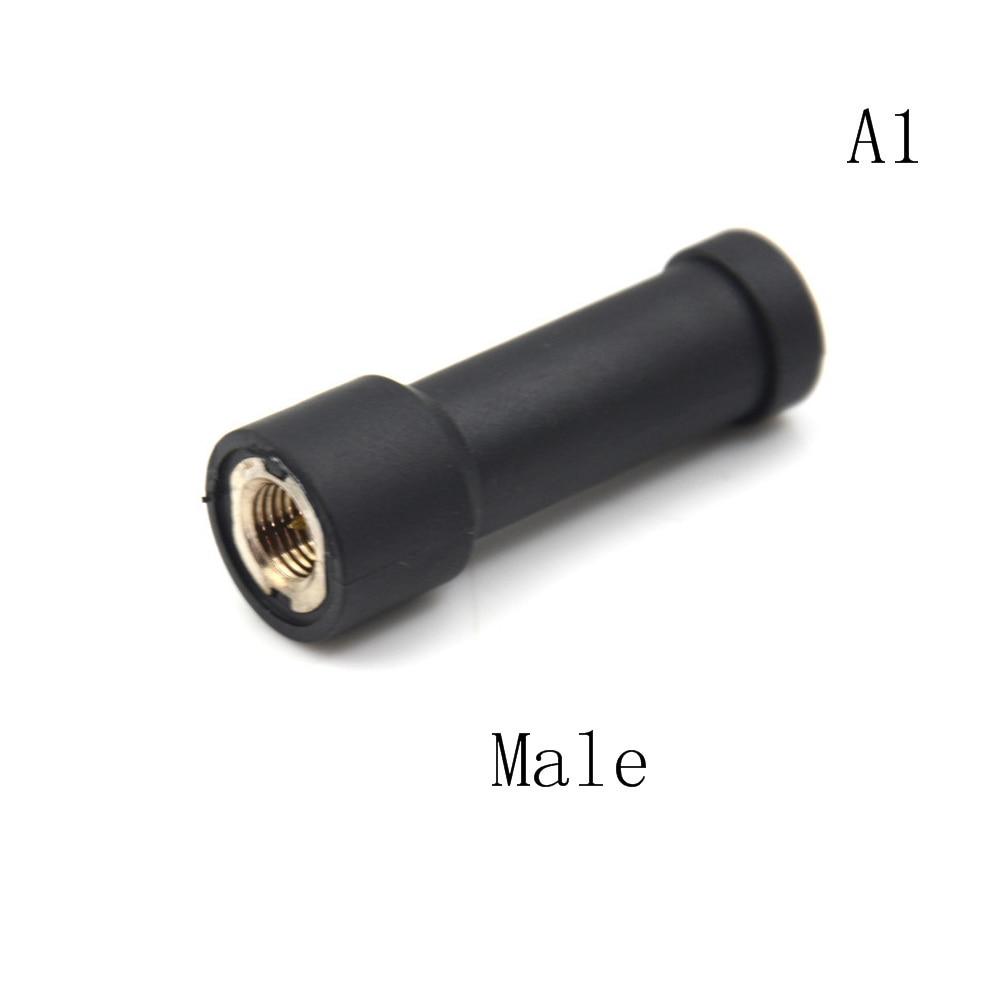 Mini SMA-F UHF 400-480MHz Short Stubby Antenna For Baofeng Kenwood Puxing Radio
