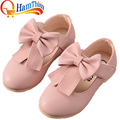 New Girls PU Leather Children Shoes Fashion Sneakers Princess Lovely Girls Flower Kids Soft Sole Flats Shoe Toddler Little Kid