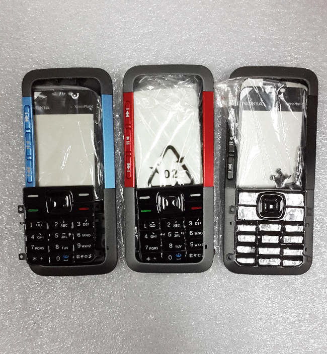 3 colors New complete Full Housing Cover Case For Nokia 5310 5310XM Front Frame+Battery Door+keypads+Middle Cover,Free Shipping
