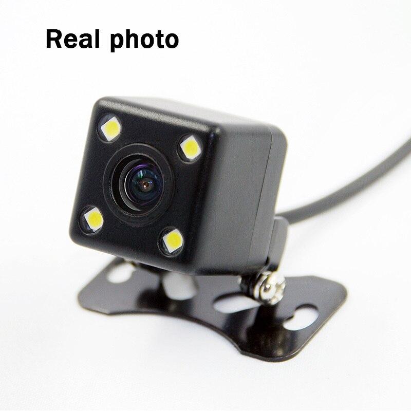 Camera video cu vedere la spate cu 4 LED-uri Night Vision rezistent - Electronică Auto