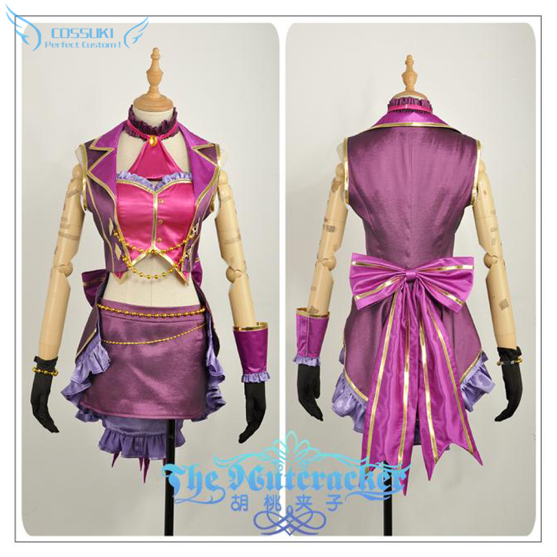 The Idol Master Miyamoto Frederica  Cosplay Costume Stage Performance Clothes , Perfect Custom for You !