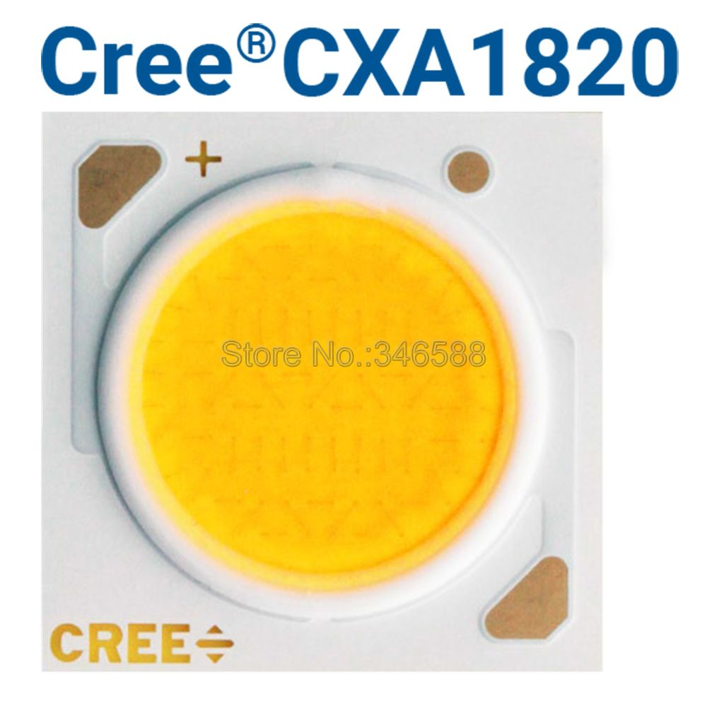 5pcs Cree CXA1820 CXA 1820 40W Ceramic COB LED Array Light EasyWhite 4000K -5000K Warm White 2700K - 3000K With / Without Holder