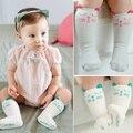 Dhl EMS бесплатная доставка носят прекрасные девушки кошка колен-высокие носки детей ног детские детские носки антипробуксовочная