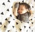 SR085 gavetas toalha de musselina de algodão orgânico macio cruz árvore Brethable multi-uso cobertor infantil banho do bebê recém-nascido Parisarc envoltório