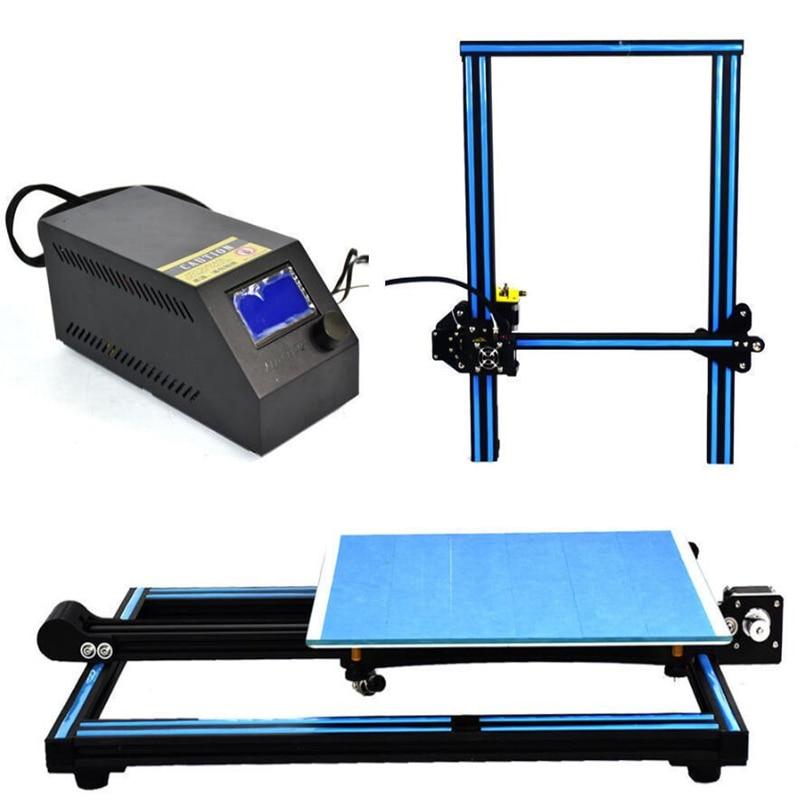 все цены на 2017 Newest 3D printer impresora 3D A10 Mega imprimante 3d High Precision Patented Platform 3d printer kit онлайн