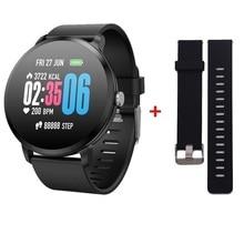 V11 Women Men Smart Watch IP 67 Activity Fitness Tracker Heart Rate Monitor Sports 1.3Inch Wristband
