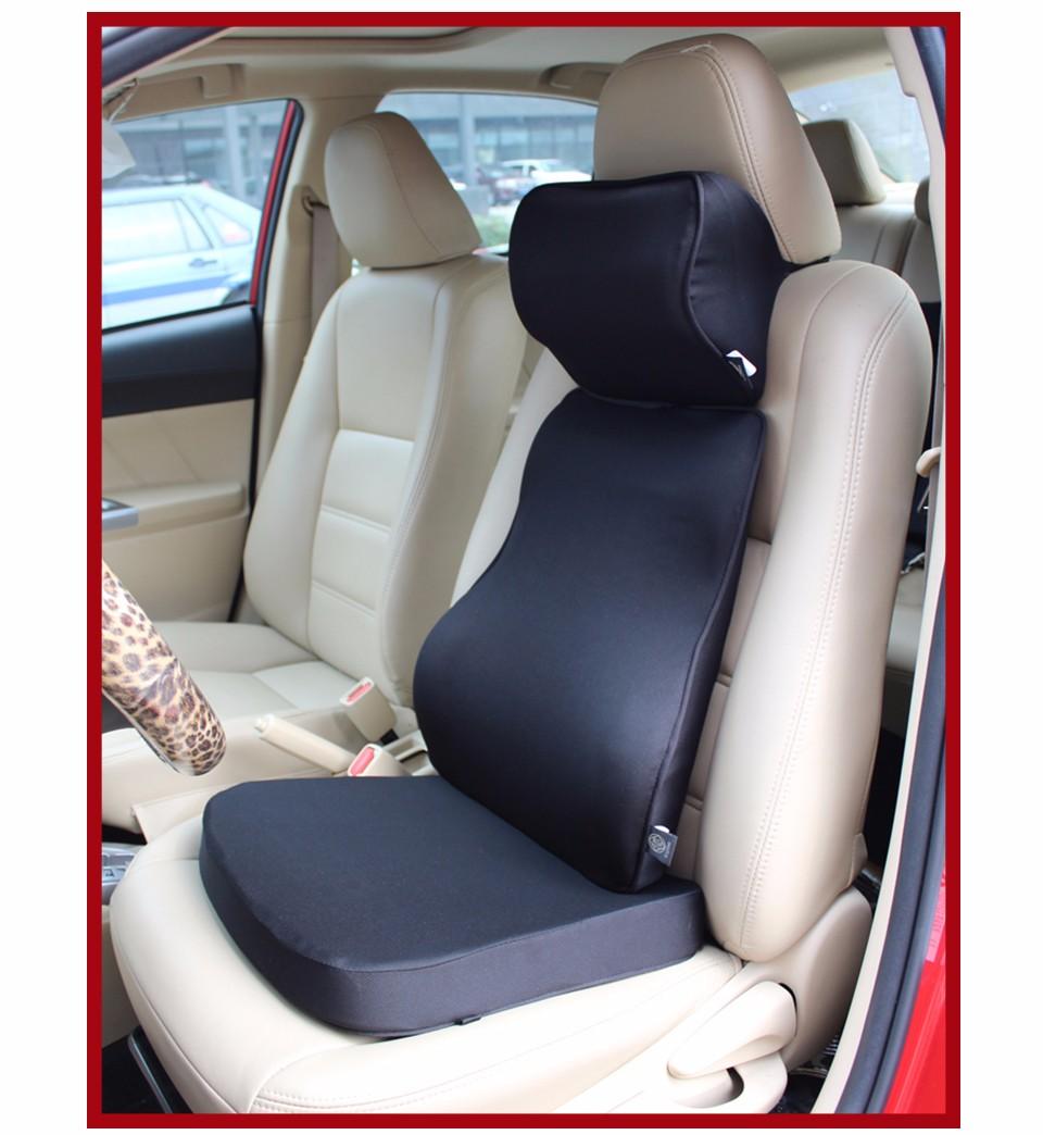 Cuscini Lombari Auto.Loen Super Soft Car Cushion Set Memory Foam Car Lumbar Support Set