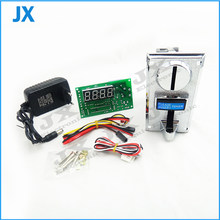 1 KIT of Multi coin acceptor Selector with timer board coin operated time control device for cafe kiosk for 1-6 kinds of coins(China)