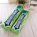 New Creative Plush Long Pillow Cartoon Green Pillow Doll Gift Home Decor Plush Pillow Soft Stuffed Toy Birthday Gift