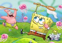 01 Spongebob SquarePants Animated Childen TV Show 20 X14 Poster CV081