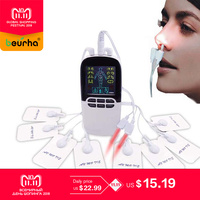 Laser Bionase Nose Rhinitis Allergy Sinusitis Therapy SnoreStop Laser Treatmen Health Massage with Electrode Pads Tens Therapy