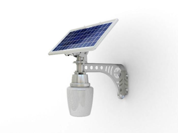 W solar powered illuminazione stradale a led con w pannello