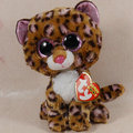 """В руке бесплатная доставка новый TY большие глаза серия плюшевые куклы животных леопарда * патчи * 6 """" 15 см плюшевые игрушки куклы лучший подарок"""