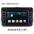 2 din Android 6.0.1 Car radio GPS navigation for VW passat b6 golf 5 Jetta Quad Core 7 inch 1024*600 Car DVD player with CAN-BUS