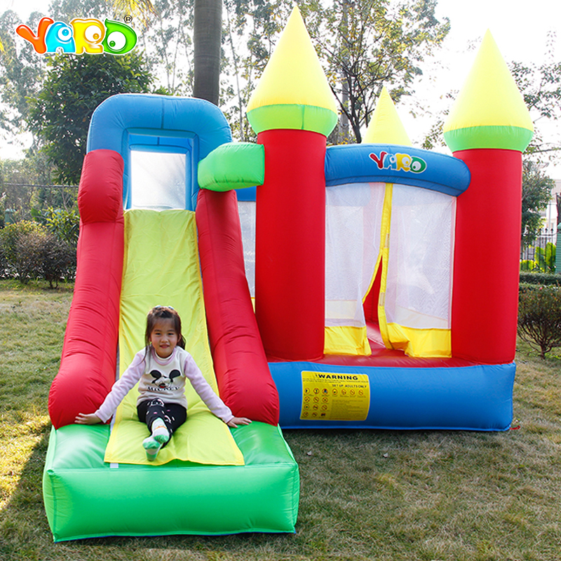 Top Grade Kids Play Games Inflatable Castle Bouncy Castle Bouncer Inflatable Bounce House with Slide for Children Outdoor free delivery inflatable castle inflatable slide inflatable bouncer inflatable games outdoor color small slide hx895