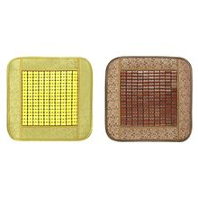 Car Seat Pad Cool Office Chair Home House Sofa Bamboo Mat Summer Quartet Cushion Anti Slip Cover