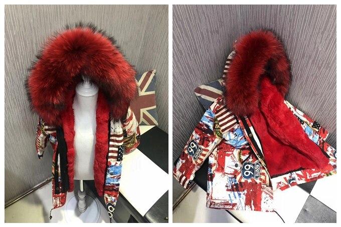 child winter real fur parkas coat (12)