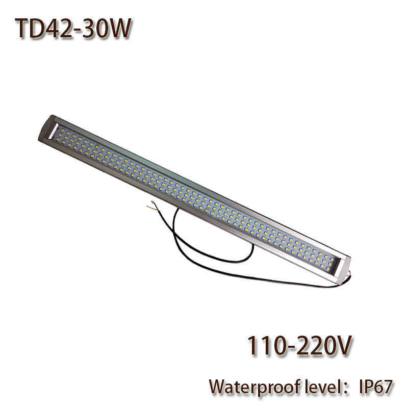 HNTD 30W AC110V/220V LED Work Lamp Explosion-proof Waterproof IP67 TD42 Led Panel Light CNC Machine Tools lighting Free shipping