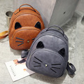LUOQI Cute Fashion Backpacks Women Girls Cartoon Shoulders Bags Cat Bags Designer Teenager School Bags New Style High Quality